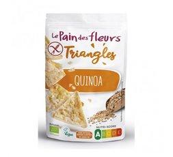Triángulos de maíz y quinoa
