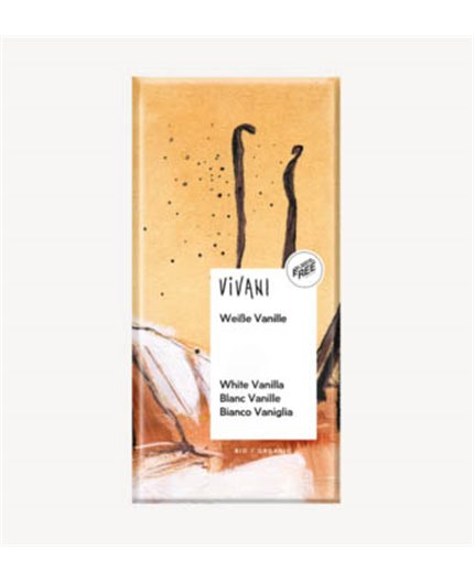 Chocolate Blanco Vainilla Bio