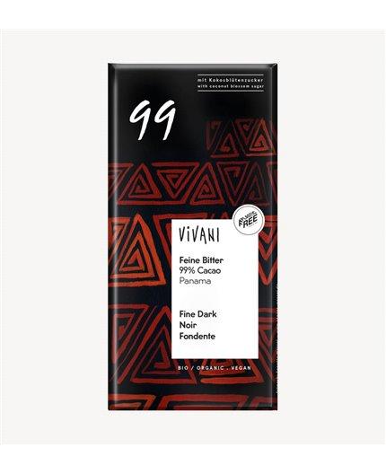Chocolate Negro Orgánico 99%