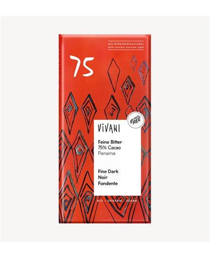 Chocolate Fino 75% de Cacao de Panamá Bio
