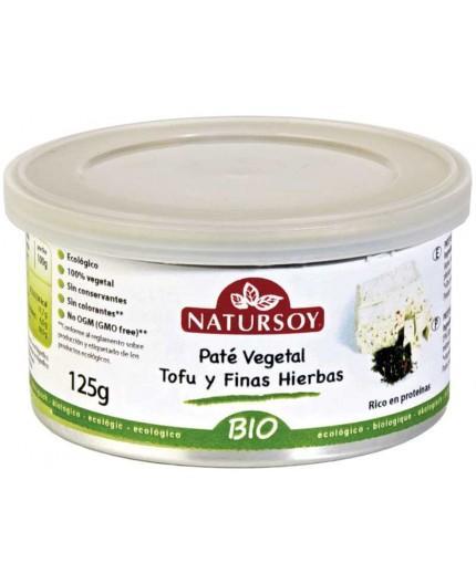 Paté Vegetal Tofu y Finas Hierbas Bio