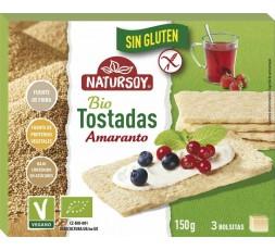 Tostadas de Amaranto Sin Gluten Bio