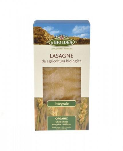 Láminas Lasaña Trigo Integral Bio