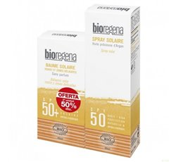 Pack Spray SPF 50 y Rostro SPF 50 Bio
