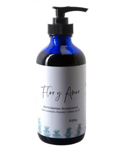 Aceite corporal Revigorizante con Lavandín, Romero y Árbol de Té Ecológico