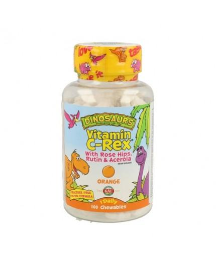 Vitamina C-Rex Sabor Naranja