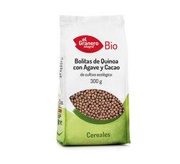 Bolitas Quinoa con Agave y Cacao Bio