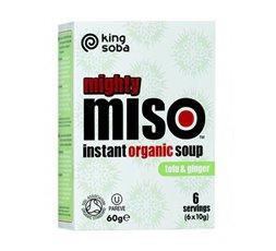 Sopa de Miso con Tofu y Jengibre Sin Gluten Bio