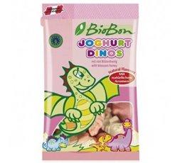 Caramelos Dinos de Goma Sabor Yogurt Bio