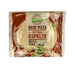 Base pizza masa fina de trigo espelta