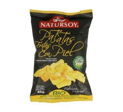 Patatas Fritas con Piel