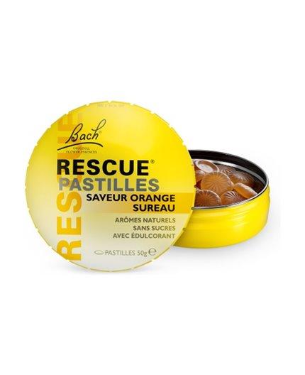 Bach Rescue Remedy Pastillas sabor naranja