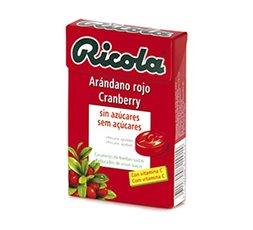 Caramelos de Arándano Rojo sin Azúcar